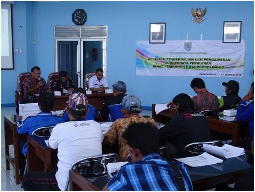 Sosialisasi Peran Serta Masyarakat Dalam Pengawasan Sumberdaya Kelautan Dan Perikanan Di Wilayah Kota Probolinggo